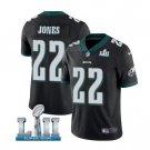 Men's Philadelphia Eagles #22 sidney Jones super bowl jersey black