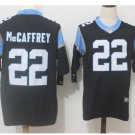 Men's Panthers 22 Christian Mccaffrey color rush limited jersey black