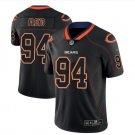 Men's Bears 94 Leonard Floyd Black color rush Limited lights out jersey