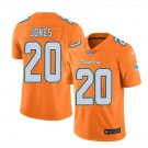Mens Miami Dolphins #20 Reshad Jones color rush Limited Jersey orange