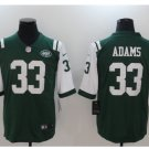 Men's New York Jets #33 Jamal Adams color rush Limited jersey green white