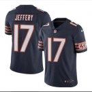 Men Chicago Bears #17 Alshon Jeffery color rush Limited jersey navy blue