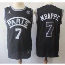 Men's jordan psg basketball jersey black new - FREE SHIPPING