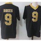 Men's New Orleans Saints #9 Drew Brees color rush limited jersey black