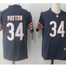 Men's Chicago bears #34 Walter Payton color rush Limited jersey navy