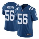 Men's Indianapolis Colts #56 Quenton Nelson color rush Limited jersey blue