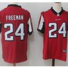 Men's Atlanta Falcons #24 Devonta Freeman color rush Limited jersey red