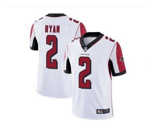 Men's Atlanta Falcons #2 Matt Ryan color rush Limited jersey white