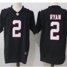Men's Atlanta Falcons #2 Matt Ryan color rush Limited jersey black