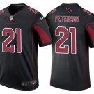 Men's Arizona Cardinals #21 Patrick Peterson Color Rush Limited Jersey black