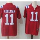Men's Patriots 11 Julian Edelman Color Rush Limited Jersey red