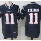 Men's Patriots 11 Julian Edelman Color Rush Limited Jersey navy