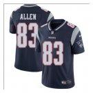 Men's Patriots 83 Dwayne Allen Color Rush Limited Jersey navy blue