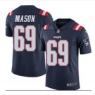 Men's Patriots 69 Shaq Mason Color Rush Limited Jersey navy blue