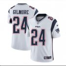 Men's Patriots 24 Stephon Gilmore Color Rush Limited Jersey white