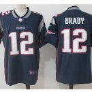 Men's Patriots 12 Tom Brady Color Rush Limited Jersey navy blue