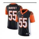 Men Bengals #55 Vontaze Burfict vapor untouchable Color Rush Limited Jersey black