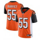 Men Bengals #55 Vontaze Burfict vapor untouchable Color Rush Limited Jersey orange