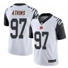 Men Bengals #97 Geno Atkins vapor untouchable Color Rush Limited Jersey white