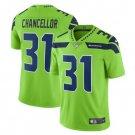 Men Seahawks 31 Kam Chancellor vapor untouchable Color Rush Limited Jersey green