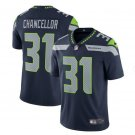 Men Seahawks 31 Kam Chancellor vapor untouchable Color Rush Limited Jersey navy