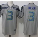 Men Seahawks 3 Russell Wilson vapor untouchable Color Rush Limited Jersey gray