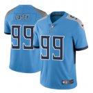 Men Titans #99 Jurrell Casey vapor untouchable Color Rush Limited Jersey blue