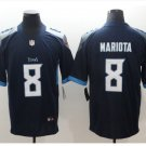 Men Titans #8 Marcus Mariota vapor untouchable Color Rush Limited Jersey navy
