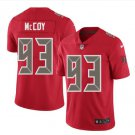 Men Buccaneers 93 Gerald McCoy vapor untouchable Color Rush Limited Jersey red