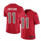 Men Buccaneers 11 desean jackson vapor untouchable Color Rush Limited Jersey red