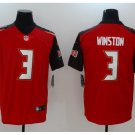 Men's Buccaneers #3 Jameis Winston Color Rush Limited Jersey RED