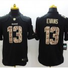 Men's Buccaneers 13# Mike Evans salute to service Limited Jersey