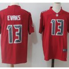 Men's Buccaneers 13# Mike Evans Color Rush Limited Jersey RED
