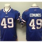 Men's Bills #34 Tremaine Edmunds color rush Limited jersey blue