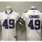 Men's Bills #34 Tremaine Edmunds color rush Limited jersey white