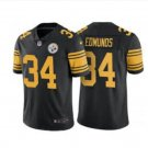Men's Steelers #34 Terrell Edmunds color rush Limited jersey black