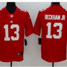 Men's NY Giants #13 Odell Beckham jr color rush Limited jersey red
