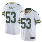 Men's Packers #53 Nick Perry color rush Limited jersey white