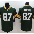 Men's Packers #87 Jordy Nelson color rush Limited jersey green