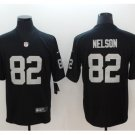 Men's Raiders #82 Jordy Nelson color rush Limited jersey black