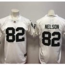 Men's Raiders #82 Jordy Nelson color rush Limited jersey white