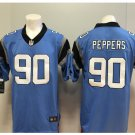 Men's Raiders #90 Julius Peppers color rush Limited jersey blue
