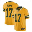 Men's Packers #17 Davante Adams color rush Limited jersey yellow