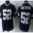 Men's Packers #52 Clay Matthews Limited jersey black