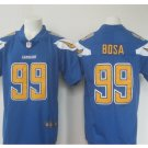 Men's Charges #99 Joey Bosa color rush Limited jersey light blue