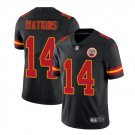 Men's KC chiefs #14 Sammy Watkins color rush Limited jersey black