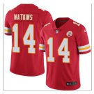 Men's KC chiefs #14 Sammy Watkins color rush Limited jersey red