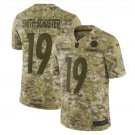 Men's Steelers 19 JuJu Smith-Schuster 2019 Salute to Service Limited Jersey Camo