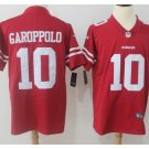 Men's 49ers #10 Jimmy Garoppolo color rush Limited jersey red