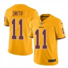 Men's Redskins #11 Alex Smith color rush Limited jersey yellow